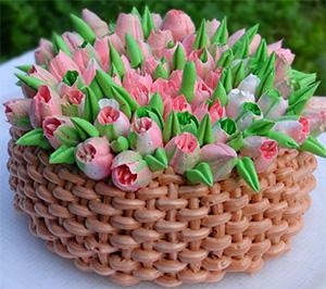 Крема для насадки тюльпан